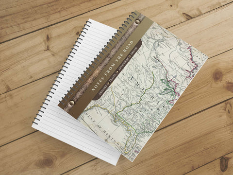 Personalize Notebook  (America) - Spiral Notebook - Notes From the Road