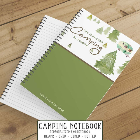 Personalize Notebook  (Cabin in the Woods) - Spiral Notebook