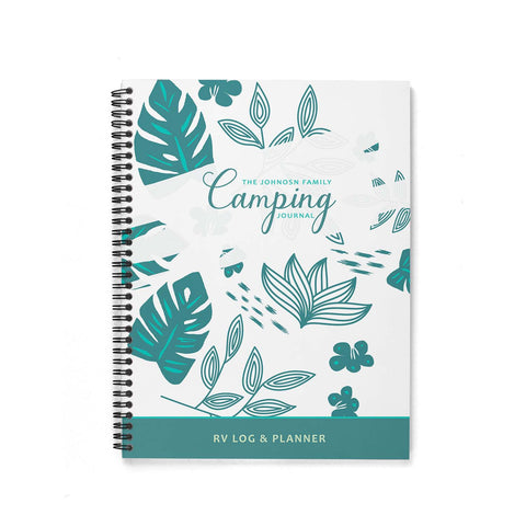 Camping Journal & Planner  (Nature)