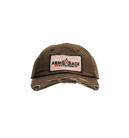 Green ARN Distressed Hat