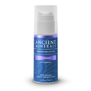 Ancient Minerals | Magnesium Lotion Goodnight | with Melatonin