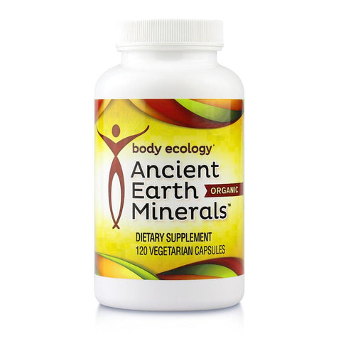 Body ecology ancient earth minerals organic capsules highest quality blend of humic, fulvic, micro and macro trace minerals and amino acids nourishing ecology energy