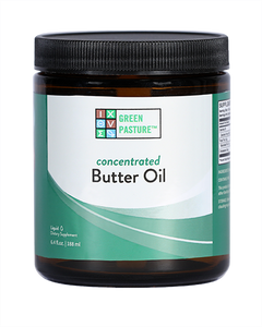 Green Pasture Butter Oil Concentrate X-Factor Gold Butter Oil Australia 188 ml Unflavoured - Nourishing Ecology