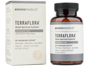 Terraflora Advanced Care Australia probiotic prebiotic phage support antioxidant no refrigeration needed pick up available