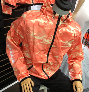 Barcode Camo Track Jacket
