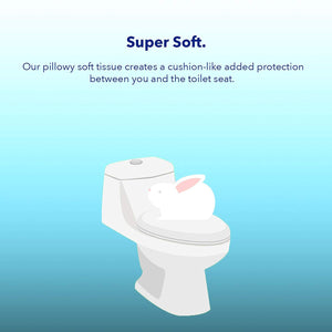 1/2 Fold Toilet Seat Covers (Fresh Scent)