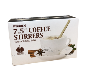 Wooden Coffee Stirrers (Round Ends)