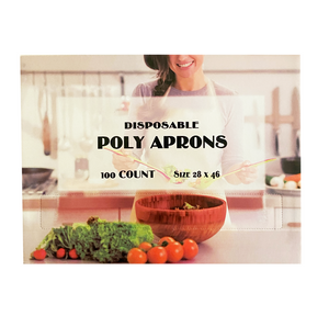 28 x 46 Poly (LDPE) Disposable Aprons
