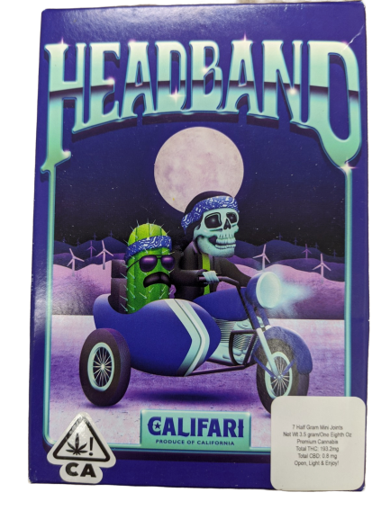 Califari Headband (3.5G PRE-ROLL PACK)