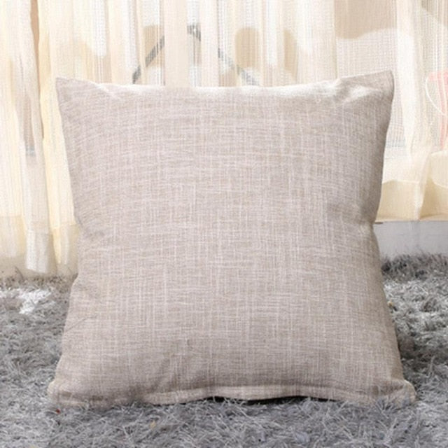 Solid Cushion Cover