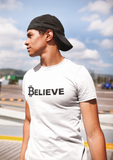 Believe - on white