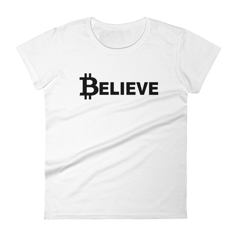 Believe - white