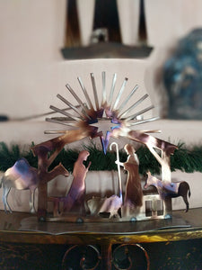 Contemporary Nativity Scene