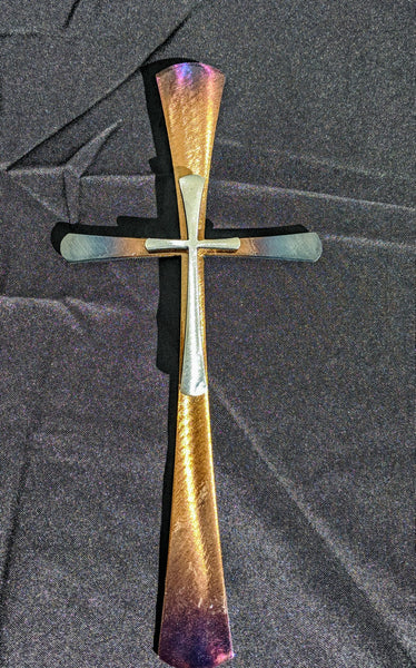 Elegant Steel Cross