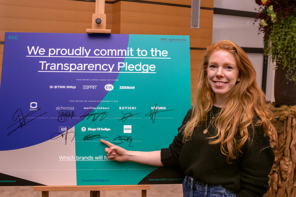 Kings of Indigo signs the Transparency Pledge