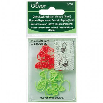 Quick Locking Stitch Markers - Small