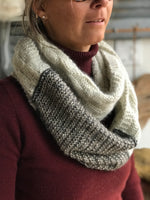 Kit prêt-à-tricoter The luft cowl par Benjamin Mattews