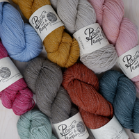 Amulette Fingering Yarn by Pause sur le Temps