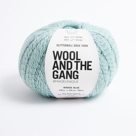 Glitterball Sock Yarn par Wool and the Gang