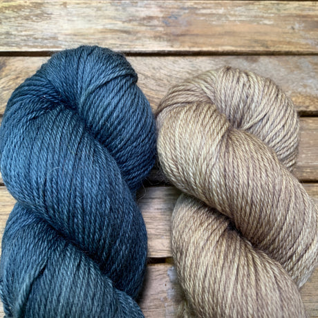 Le Beauceron Pullover Yarn Kit by Vincent Deslandes