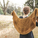 Kit de tricot chale Fox wedding shawl par  Sylvia McFadden Mercado