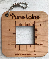 Square Swatch Gauge by Pure Laine