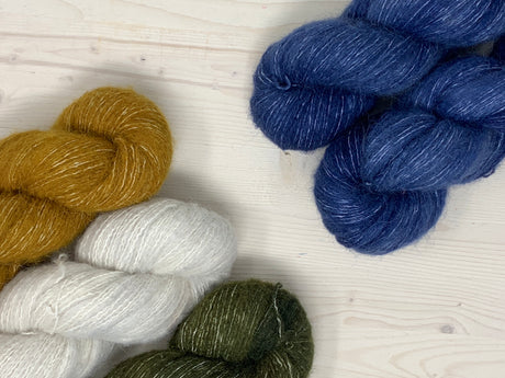 Engle Pullover Yarn Kit by Caitlin Hunter