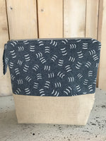 Zippered knitting Bag by Blueberryfields