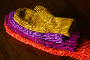 Kit de tricot The world's simplest mittens par Tincanknits