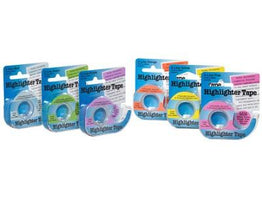 ACCESSOIRES - Highlighter Tape - Lee Education Products