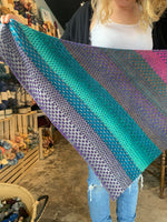 Nightshift Shawl Yarn Kit by Andrea Mowry