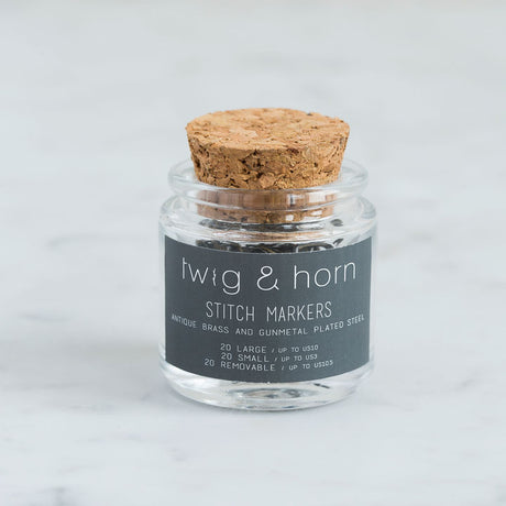 Stitch Marker Combo Pack (60 ct) by Twig & Horn