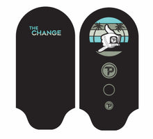 "Load image into Gallery viewer, Driver cover in black with "" The Change"" technology"