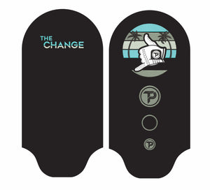 "Driver cover in black with "" The Change"" technology"