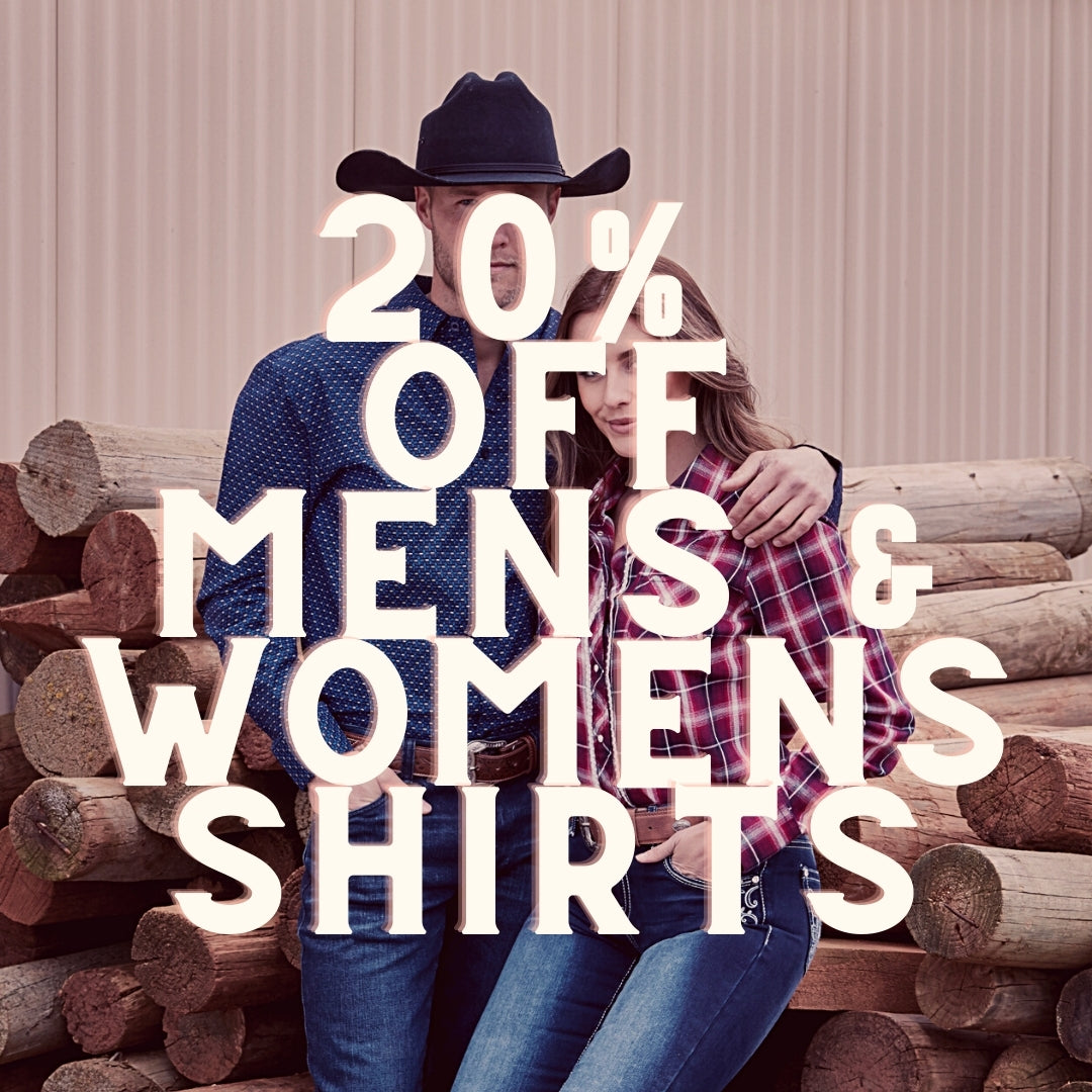 20% off adult shirts