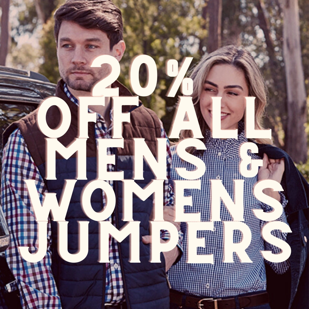 20% off adult jumpers