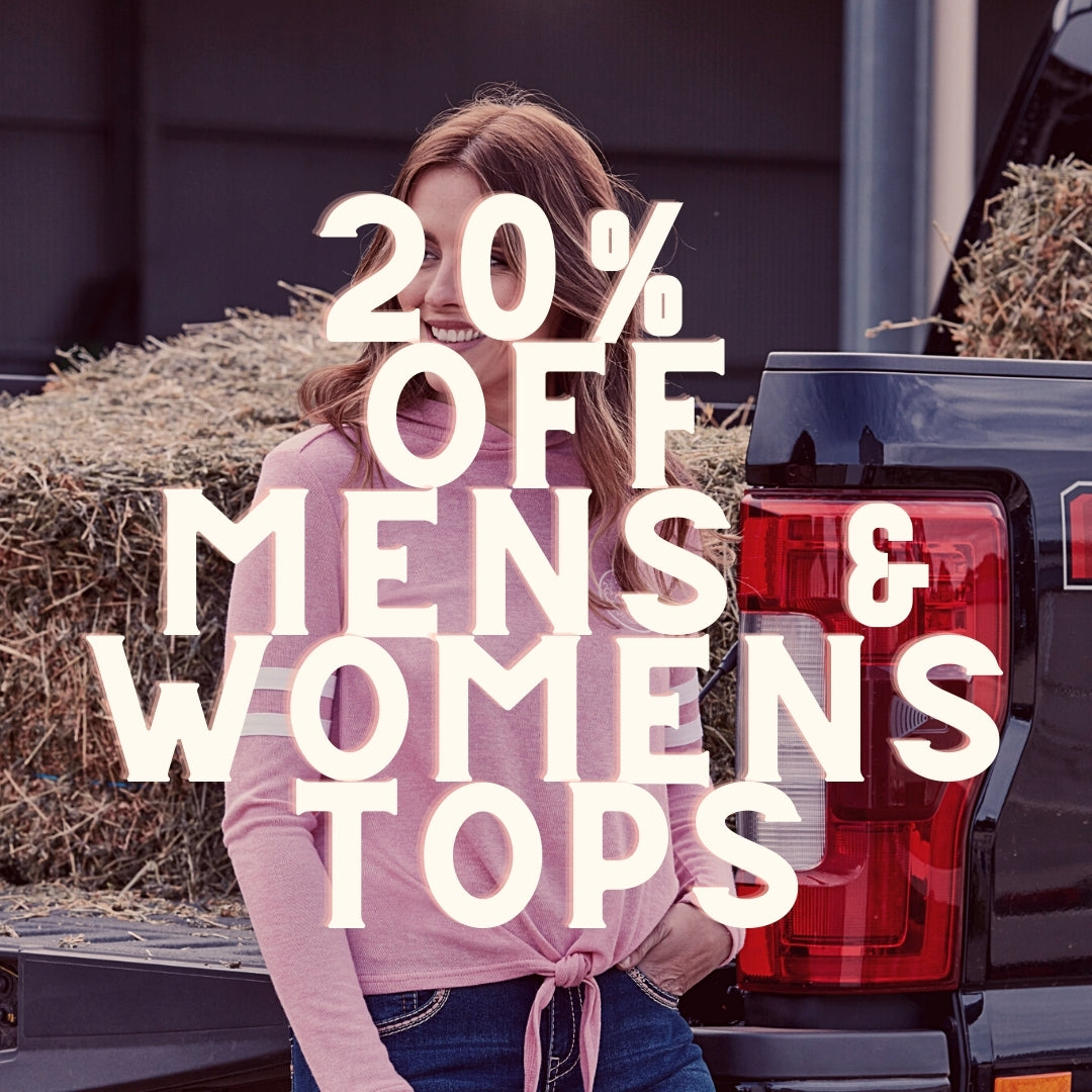 20% off adult tops