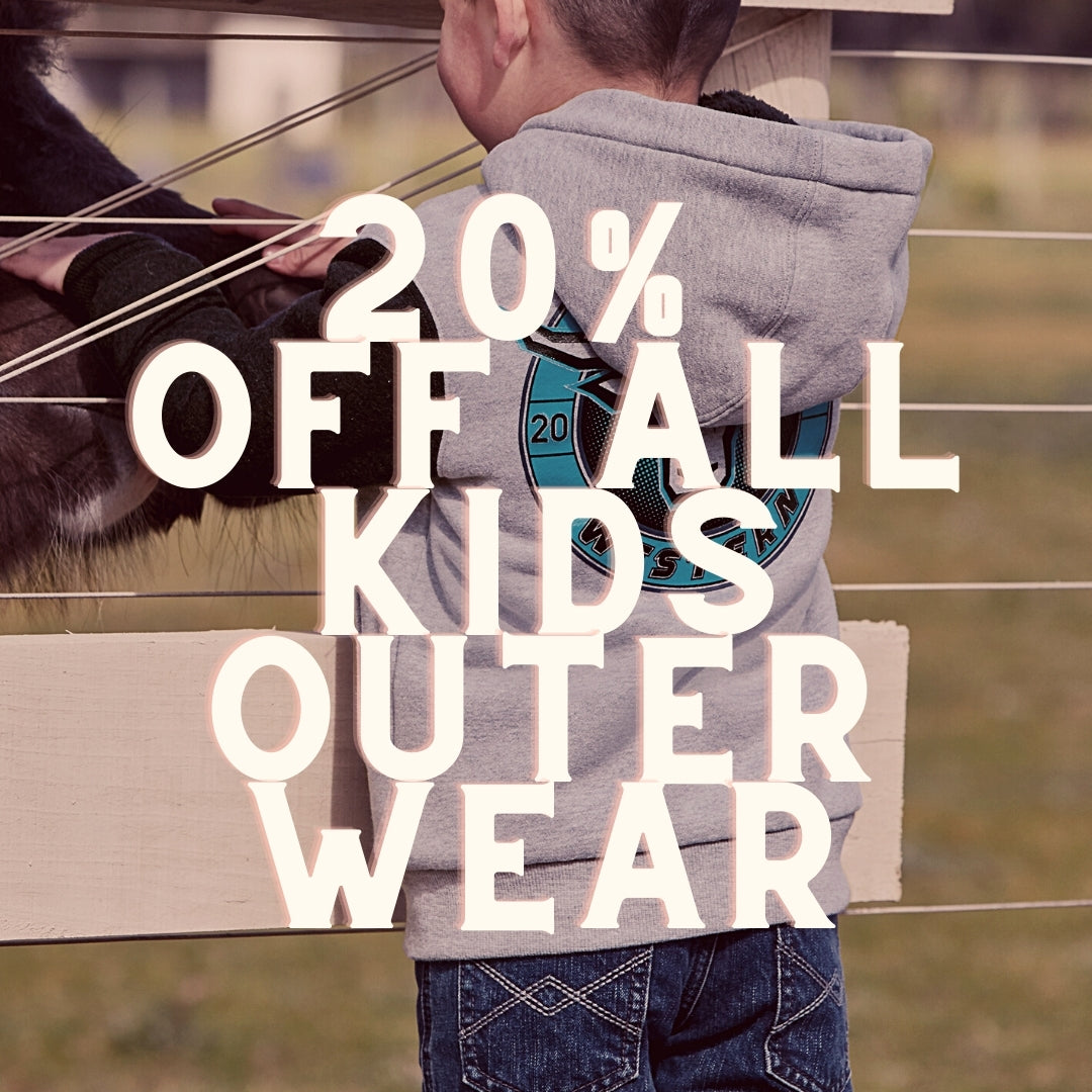 20% off kids outerwear