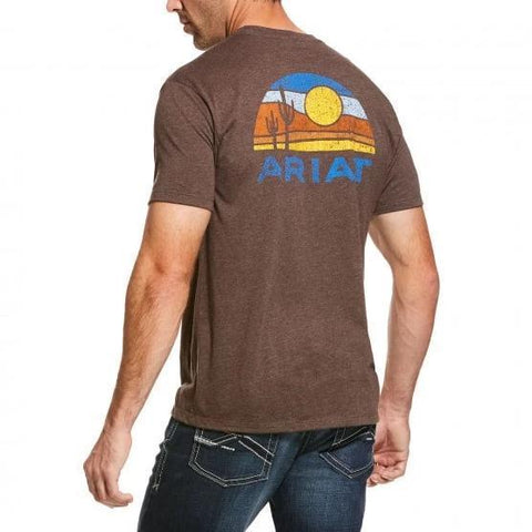 ARIAT MENS DUSK TEE-Ranges Country