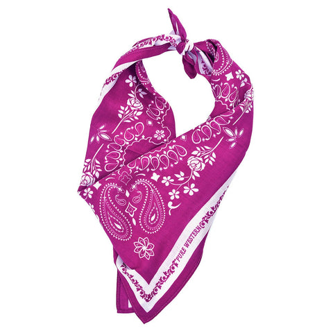 PURE WESTERN CHANTELLE BANDANA-Ranges Country