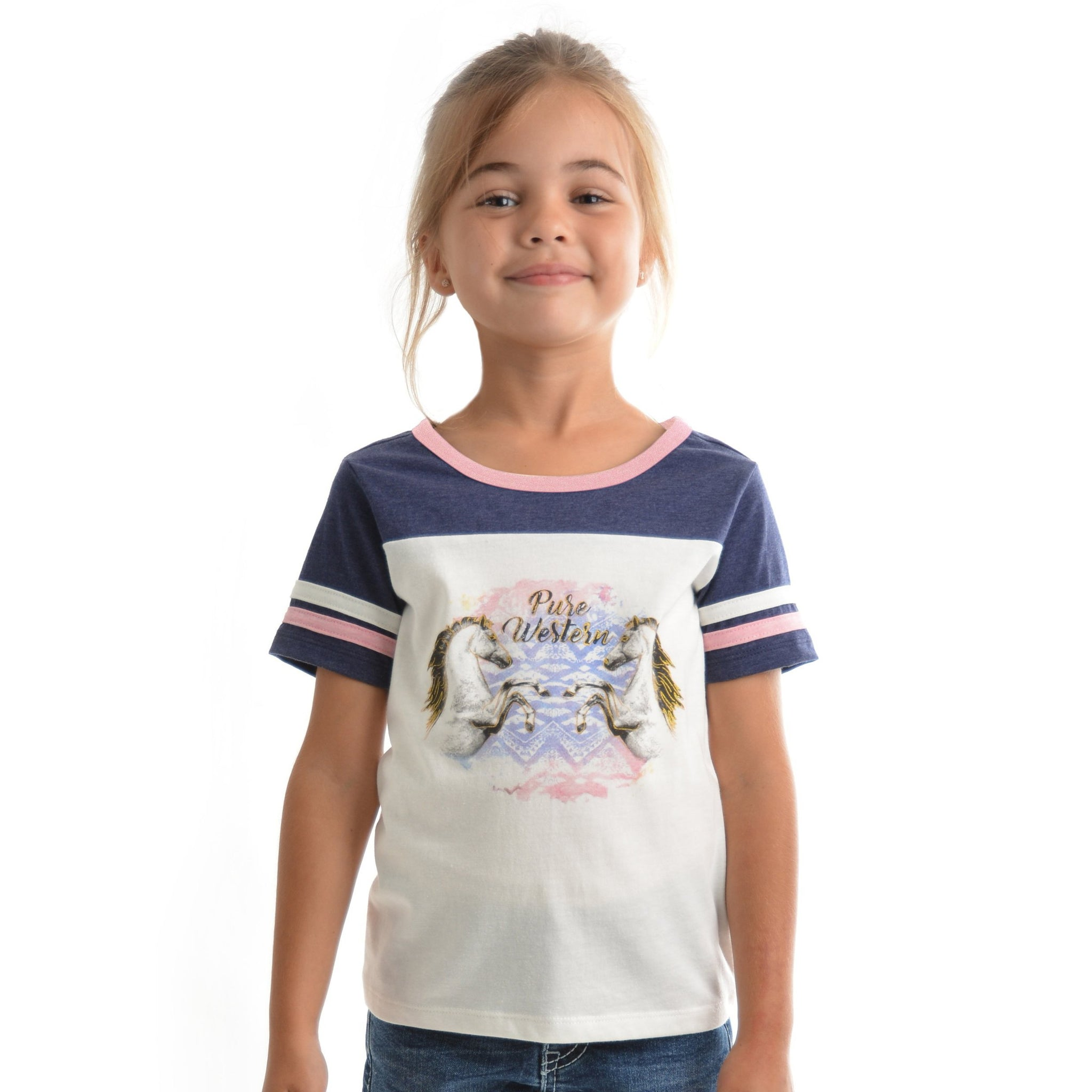 PURE WESTERN GIRLS HAVEN TEE-Ranges Country