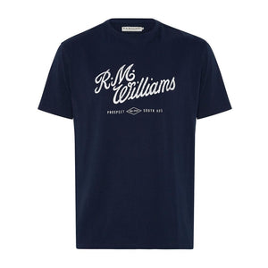 R. M. WILLIAMS MENS SCRIPT TEE-Ranges Country