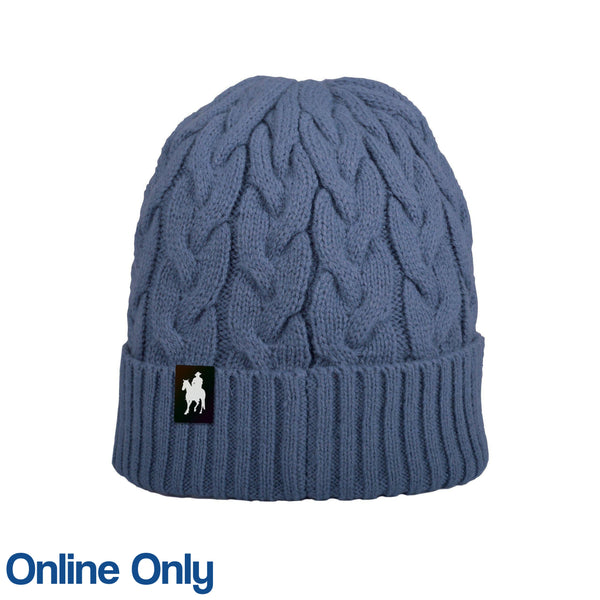 THOMAS COOK WOMENS CABLE KNIT BEANIE-Ranges Country