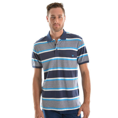 WRANGLER MENS CAMERON POLO-Ranges Country