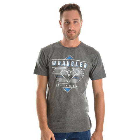 WRANGLER MENS CLAYTON TEE-Ranges Country