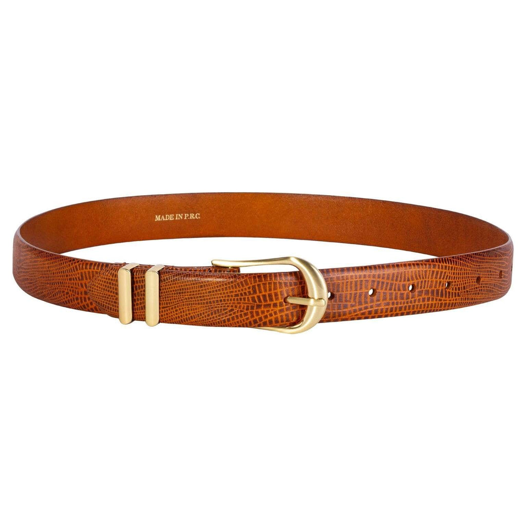 Sancia Belts Sancia | Inga Belt - Cognac Lizard