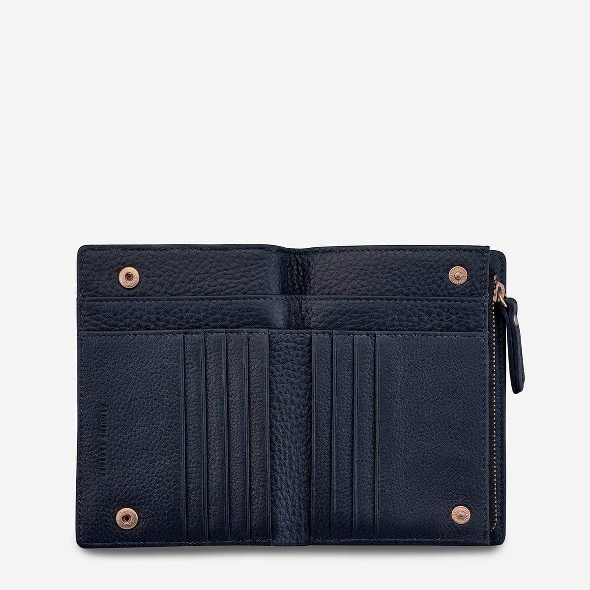 Status Anxiety Bags Status Anxiety | Insurgency Wallet - Navy Blue
