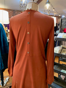 Rust colored, Toofan top with pockets