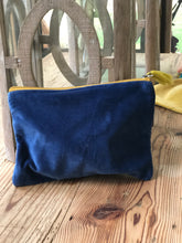 Load image into Gallery viewer, Velvet Cosmetic Bag (multiple colors available)