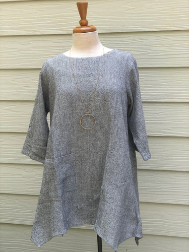 Toofan Cotton One-Pocket Tunic